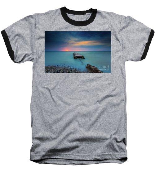 Glimpsing Sun Baseball T-Shirt