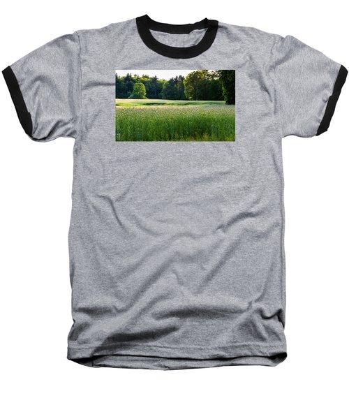Glistening Green Baseball T-Shirt