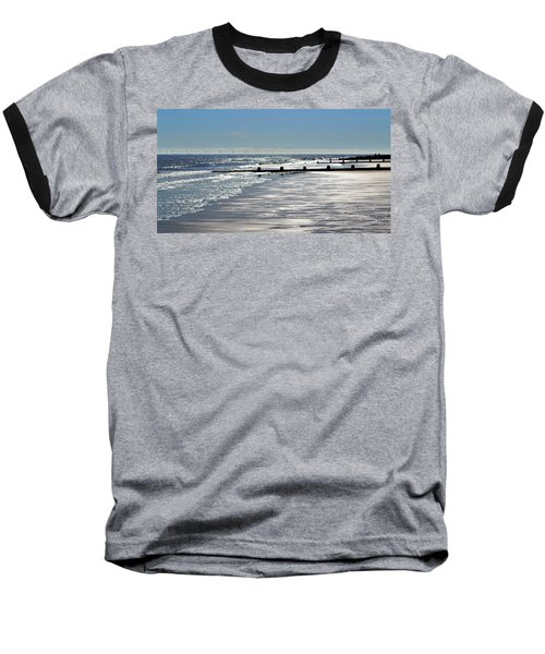 Glistening Shore Baseball T-Shirt