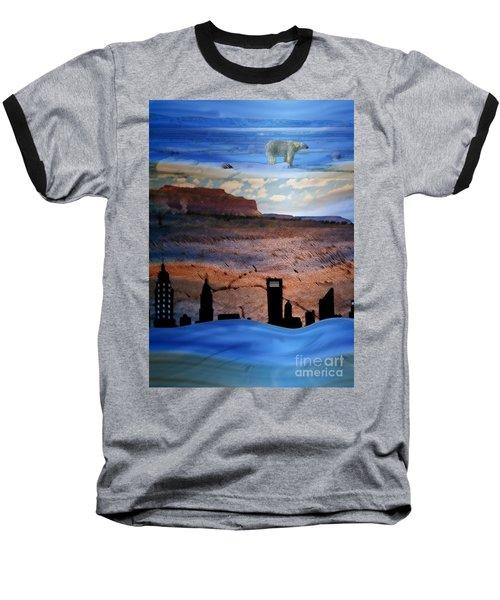Global Care Be Aware Baseball T-Shirt