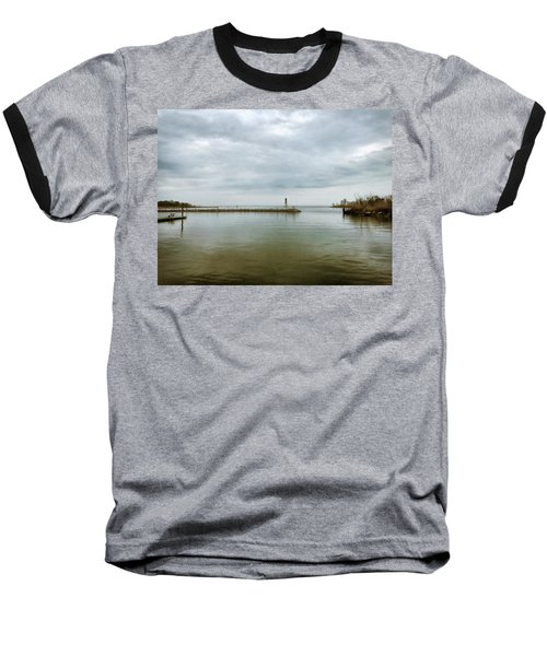Gloom On The Bay Baseball T-Shirt