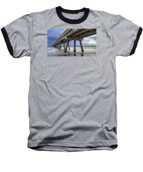 Gloomy Pier Baseball T-Shirt