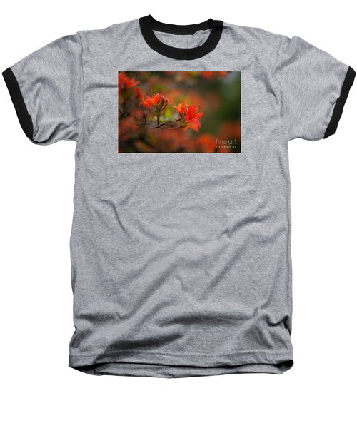 Glorious Blooms Baseball T-Shirt by Mike Reid