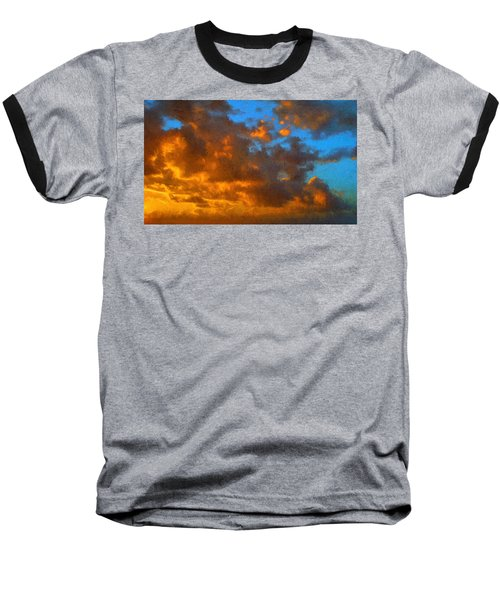 Glorious Clouds Baseball T-Shirt