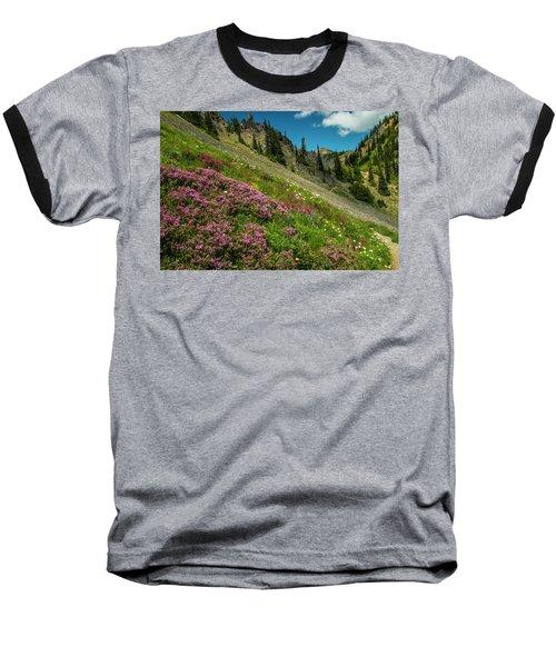Glorious Mountain Heather Baseball T-Shirt