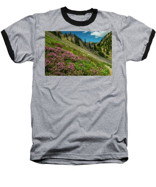 Glorious Mountain Heather Baseball T-Shirt