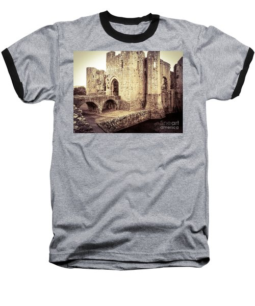 Glorious Raglan Castle Baseball T-Shirt