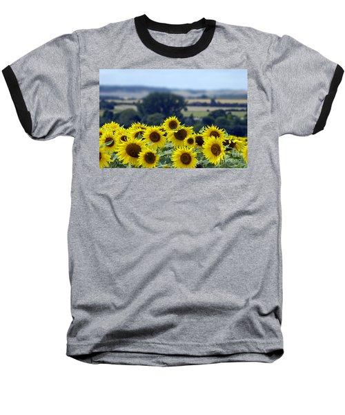 Glorious Sunflowers Baseball T-Shirt