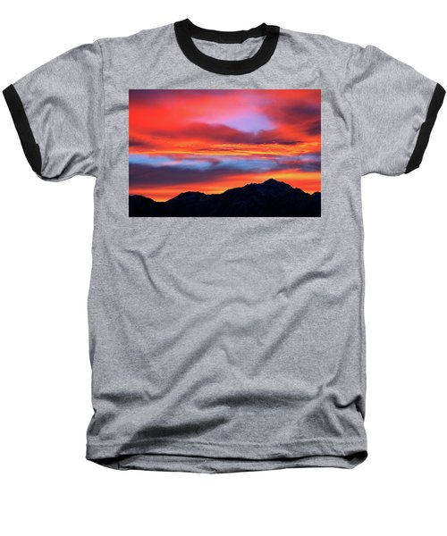 Glorious Sunrise Baseball T-Shirt by Paul Marto
