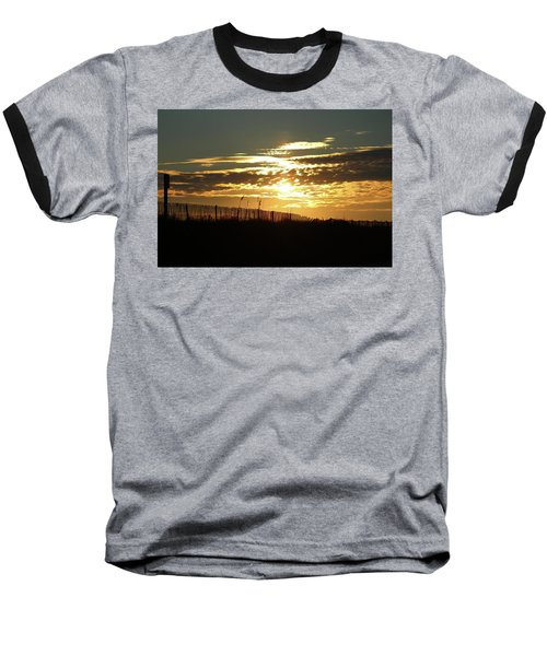 Glorious Sunset Baseball T-Shirt