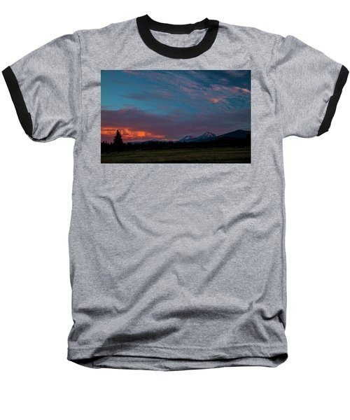 Glorious Sunset Baseball T-Shirt