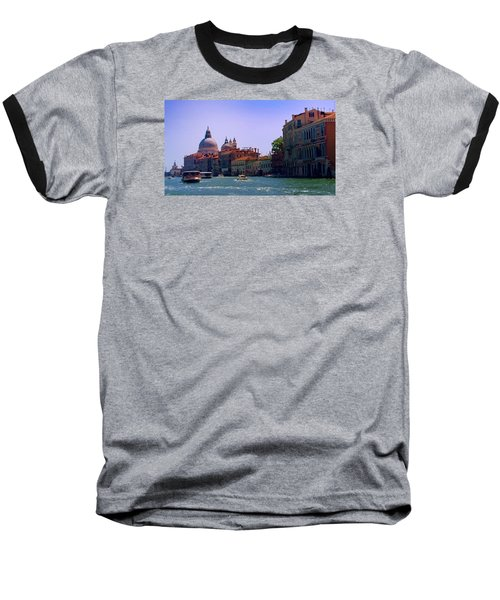 Baseball T-Shirt featuring the photograph Glorious Venice by Anne Kotan