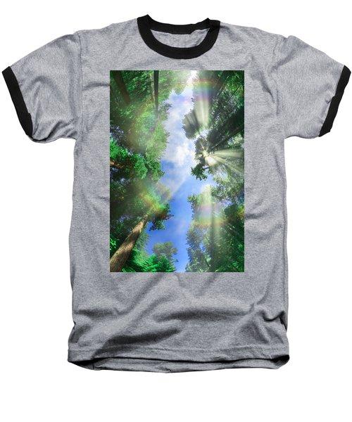 Glory Amongst Redwoods Baseball T-Shirt