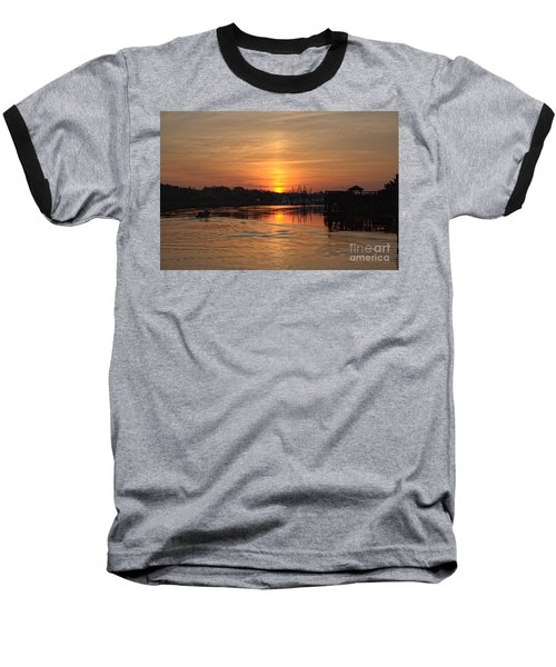 Glory Of The Morning On The Water Baseball T-Shirt
