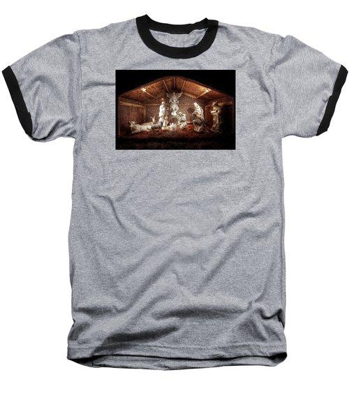 Glory To The Newborn King Baseball T-Shirt