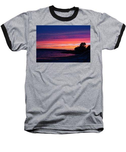 Gloucester Harbor Beach Baseball T-Shirt