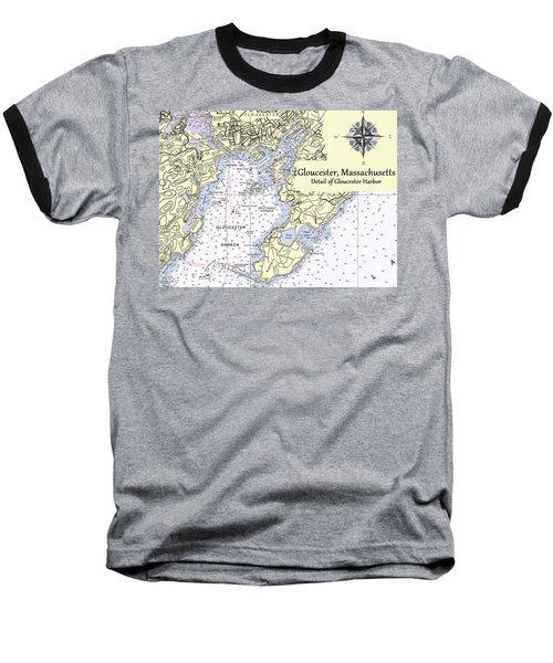 Gloucester Harbor Baseball T-Shirt