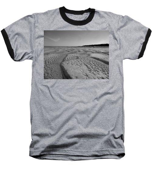 Gloucester Lighthouse Monocrhome Baseball T-Shirt