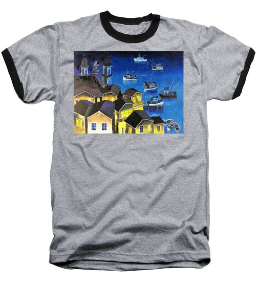 Glouchester Harbor Baseball T-Shirt