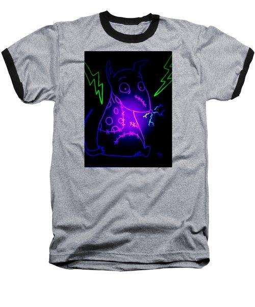 Glow Frankenweenie Sparky Baseball T-Shirt