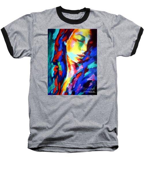 Glow In Shadows Baseball T-Shirt
