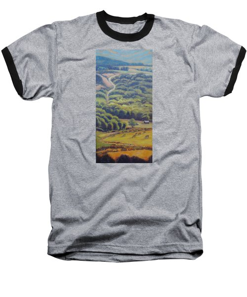 Glow Of The Rising Sun Baseball T-Shirt