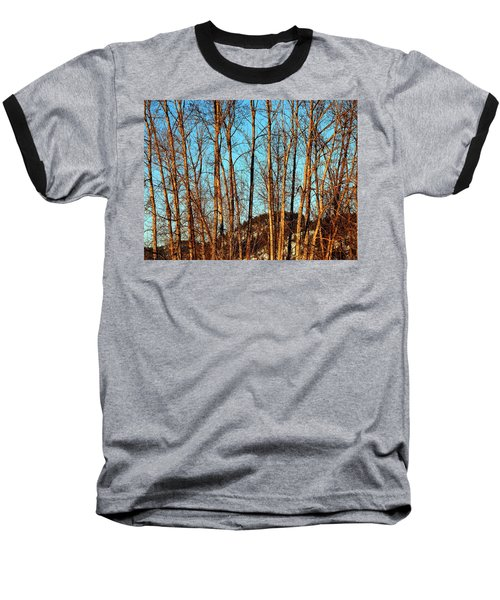 Baseball T-Shirt featuring the photograph Glow Of The Setting Sun by Will Borden