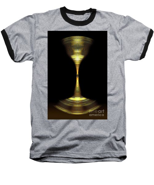 Glowing Brass Lamp Stand Baseball T-Shirt