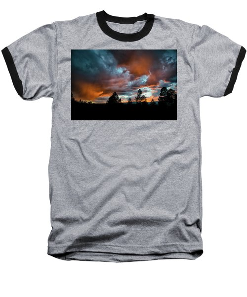 Glowing Mists Baseball T-Shirt