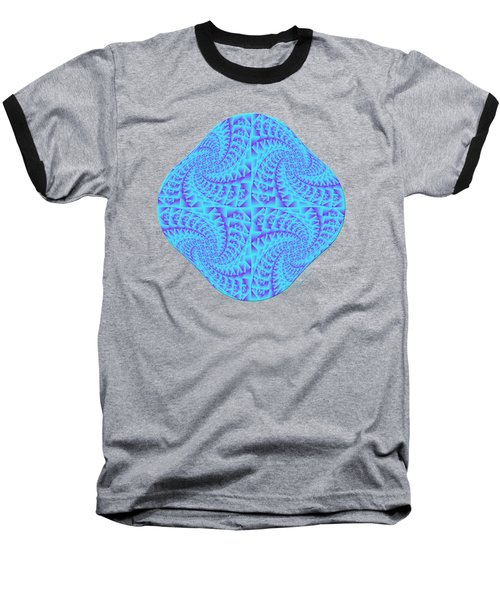 Glowing Moon Diamond Baseball T-Shirt