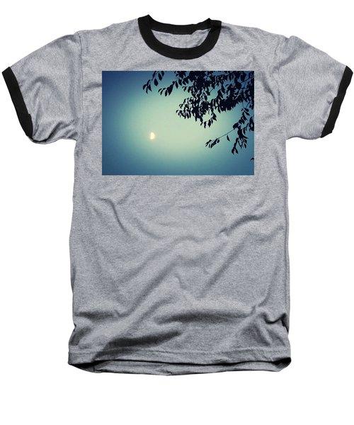 Glowing Moon  Baseball T-Shirt