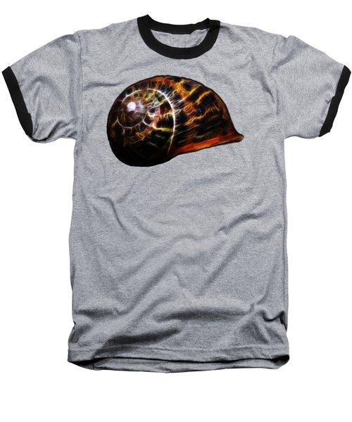 Baseball T-Shirt featuring the photograph Glowing Shell by Shane Bechler
