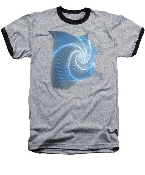 Glowing Spiral Baseball T-Shirt
