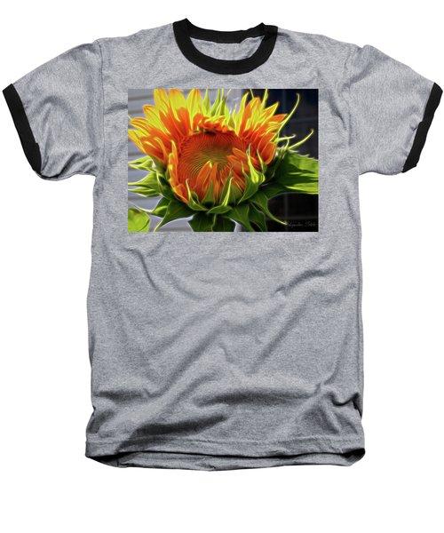 Glowing Sun Baseball T-Shirt