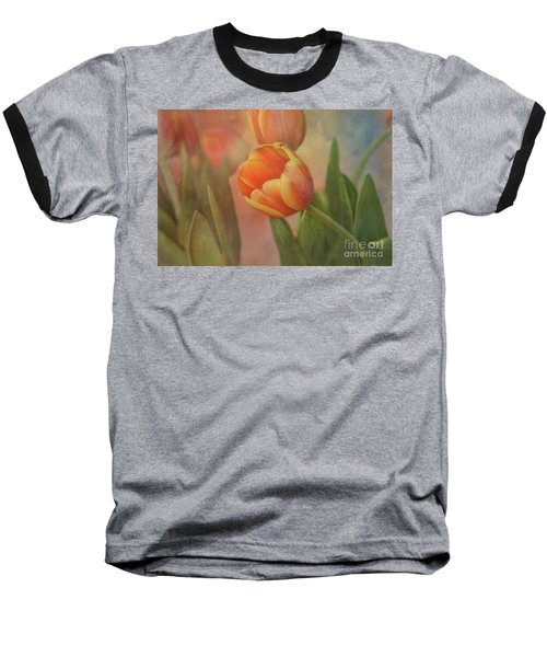 Glowing Tulip Baseball T-Shirt