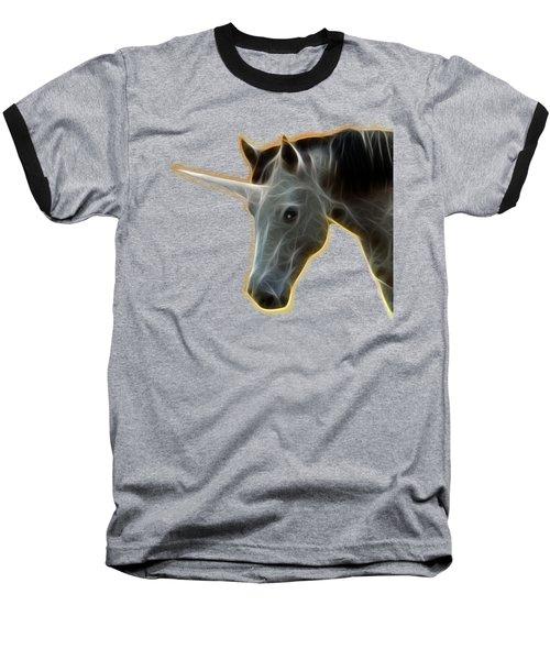 Glowing Unicorn Baseball T-Shirt