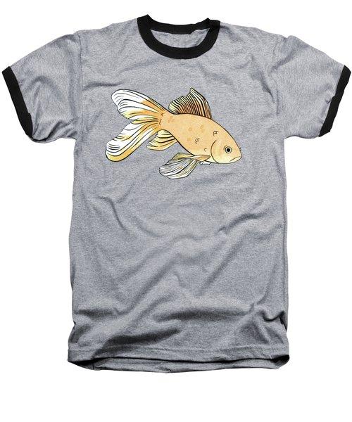 Glum Goldfish Baseball T-Shirt
