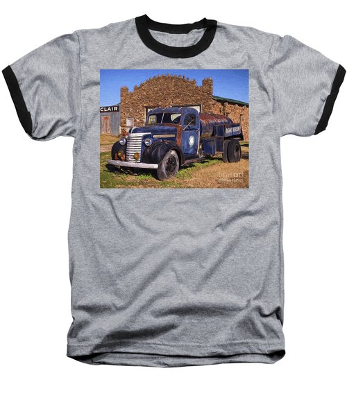 Gmc Tank Truck Baseball T-Shirt