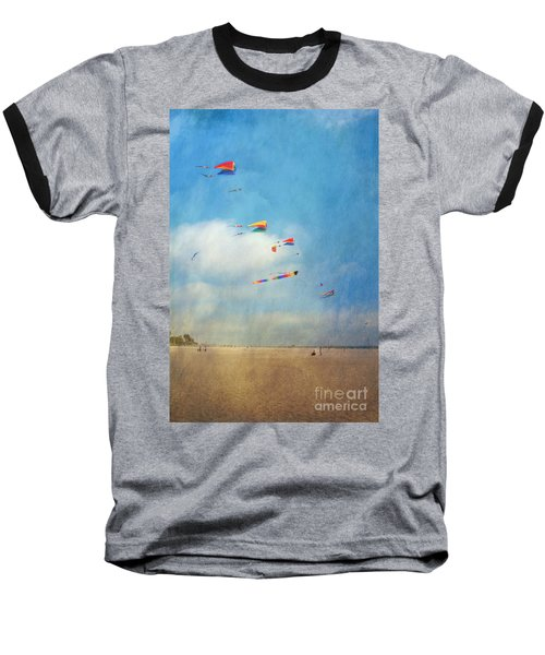 Baseball T-Shirt featuring the photograph Go Fly A Kite by David Zanzinger