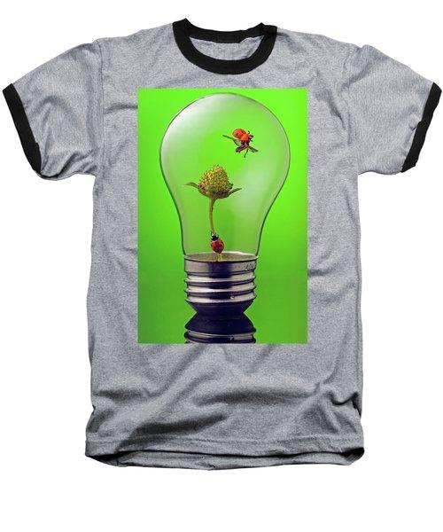 Go Green Baseball T-Shirt