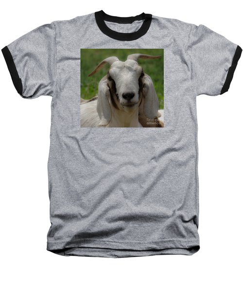 Goat 1 Baseball T-Shirt