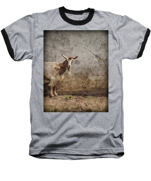 London, England - Goat Baseball T-Shirt