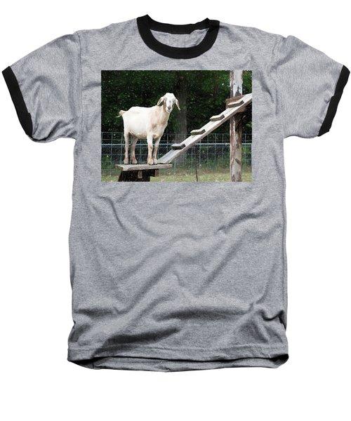 Goat Smile Baseball T-Shirt