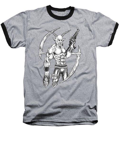 Goatlord Reaper Baseball T-Shirt