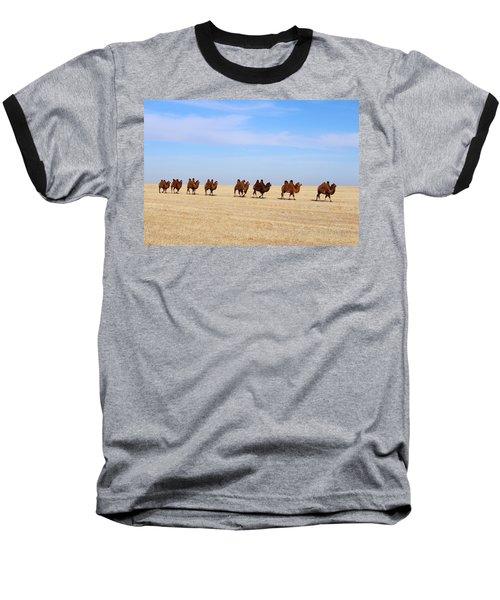Gobi Camels Baseball T-Shirt