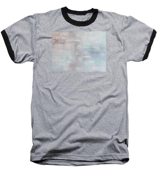 Gobi Desert Gale And Oasis Baseball T-Shirt by Min Zou
