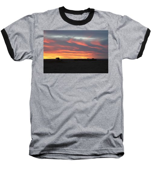Gobi Sunset Baseball T-Shirt