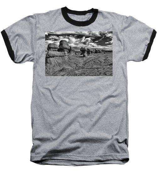 Goblins All In A Row Baseball T-Shirt