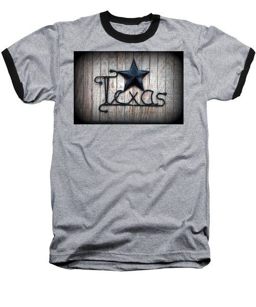 Baseball T-Shirt featuring the photograph God Bless Texas by Kathy  White