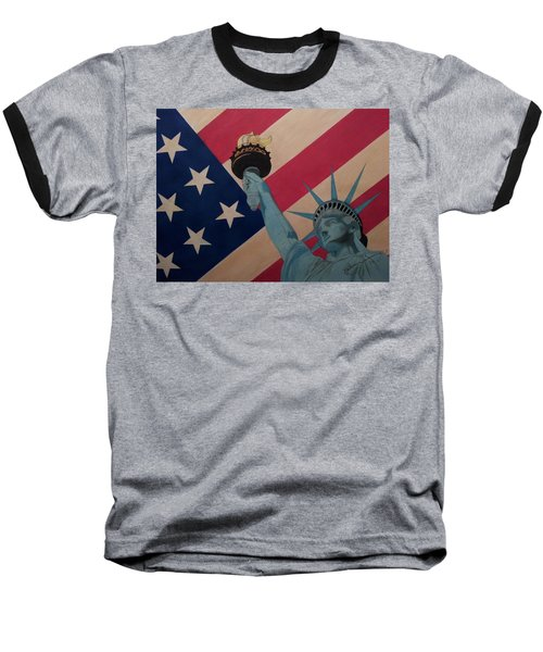 God Bless The Usa Baseball T-Shirt